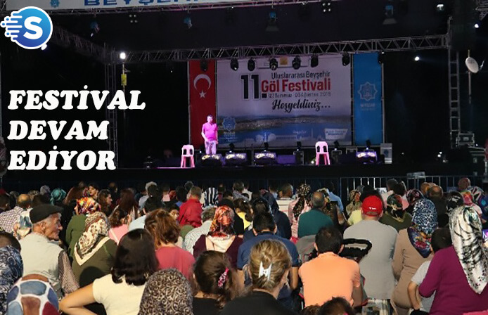 11. Beyşehir Göl Festivali dolu dizgin!