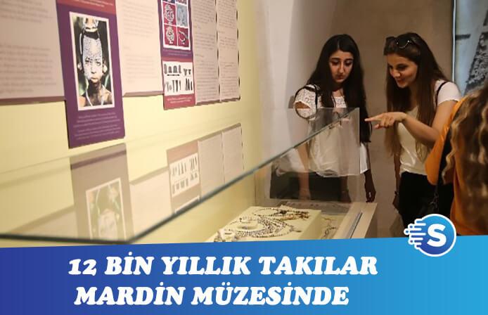12 bin yıllık Aşık takıları meraklıları için Mardin müzesinde sergileniyor