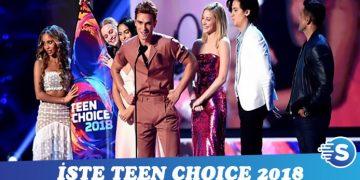 2018 Teen Choice Ödülleri sahiplerini buldu