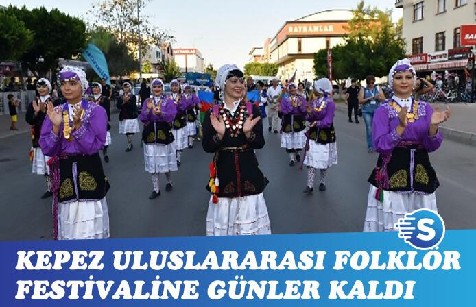 Kepez 4. Uluslararası Folklor Festivaline günler kaldı