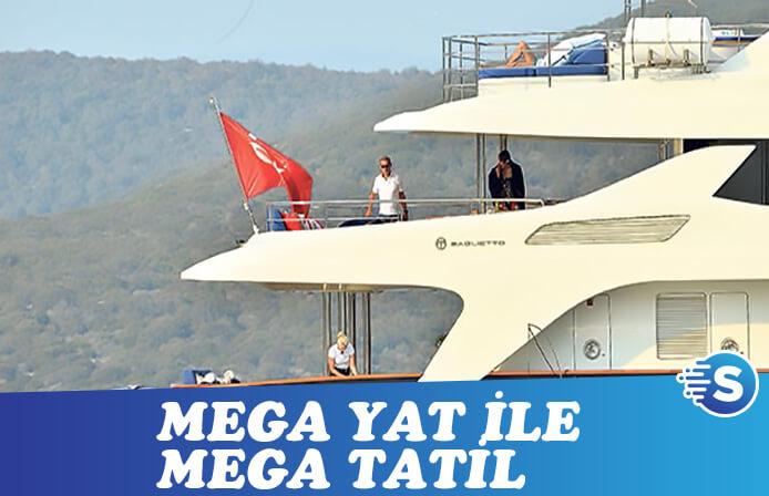 Sarkozy ve Carla Bruni'nin mega tatili