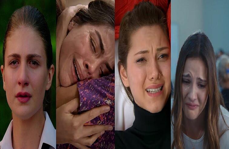 türk dizileri ağlama sahneleri ağlayan oyuncular