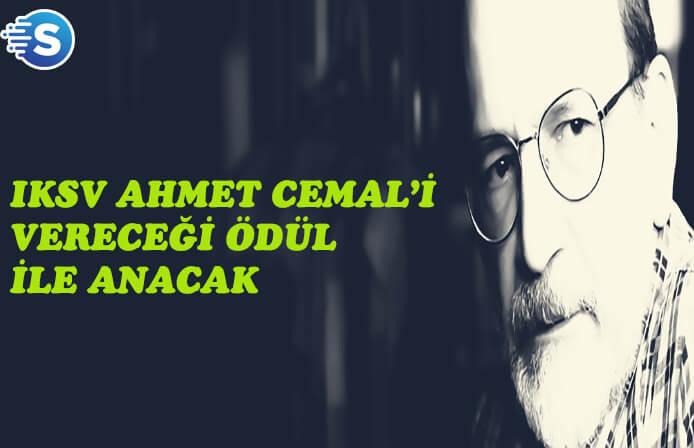 """IKSV'den bir kereye mahsus """"Ahmet Cemal İlk Çeviri Ödülü"""""""