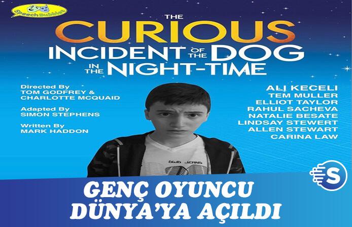 Genç oyuncu Ali Keçeli, Dünya'ya açıldı