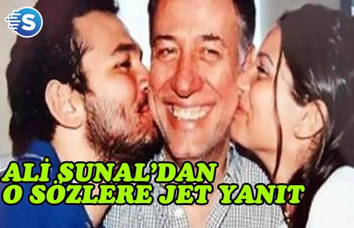 Ali Sunal, Cemile Bayraktar'a iddiasının kaynağını sordu