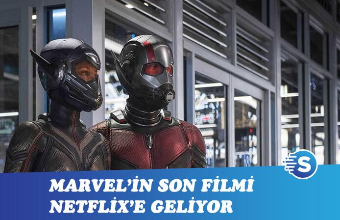 Ant-Man ve Wasp Netflix'e geliyor