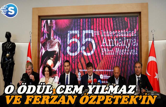 """Antalya Film Festivali'nde """"Yaşam Boyu Başarı"""" ödülünün sahipleri belli oldu"""