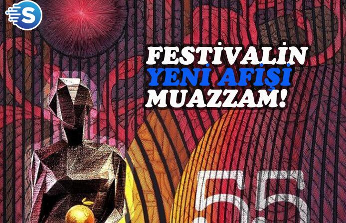 55. Uluslararası Antalya Film Festivali afişine tam puan!