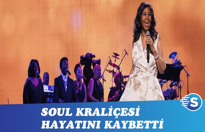 Soul müziğinin efsanelerinden Aretha Franklin hayatını kaybetti