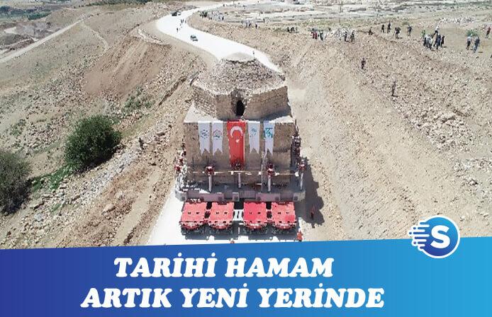 Tarihi Artuklu Hamamı yeni yerinde!