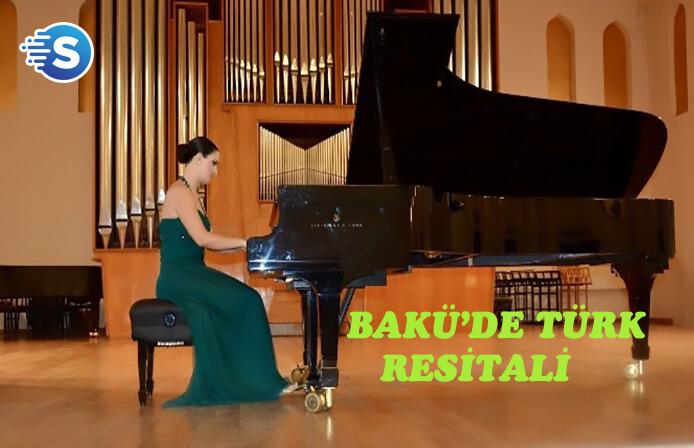 Bakü'de Türk piyanist rüzgarı