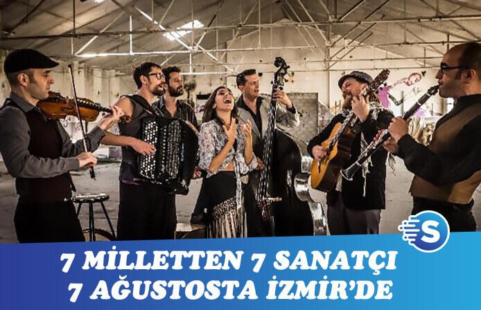İzmir Barcelona Gipsy Balkan Orkestrası için gün sayıyor
