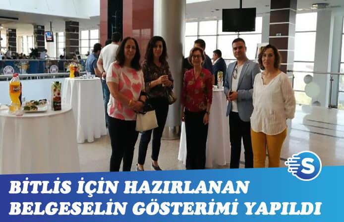 Bitlis için hazırlanan belgesel beğenildi