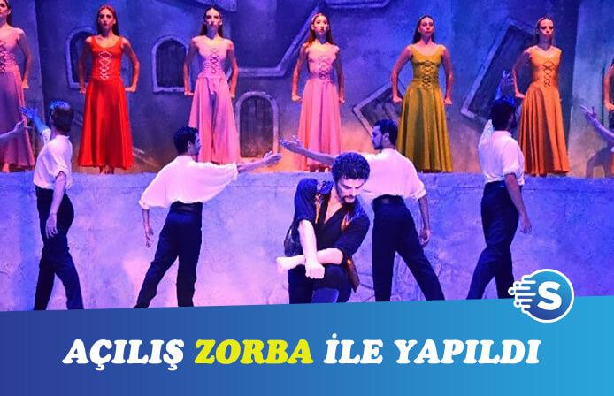 Bodrum Bale Festivali'nde açılış Zorba ile oldu