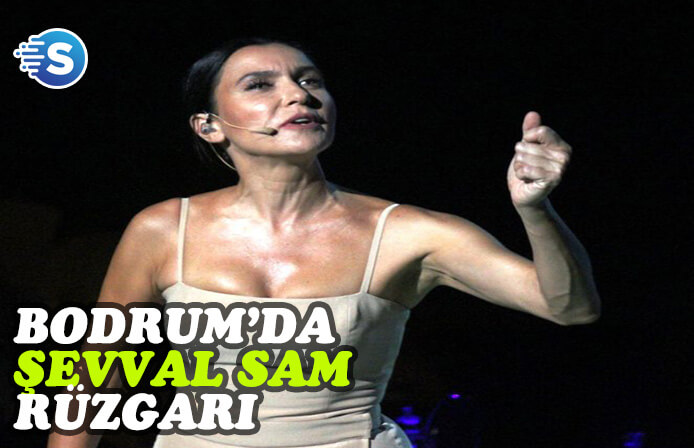 Bodrum'da Şevval Sam müzikali