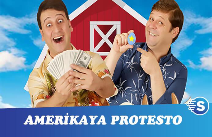 Çift'lik Bank Tosun Firarda'dan Amerika'ya boykot!