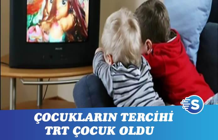 Çocuklar tercihi TRT Çocuk'tan yana kullandı
