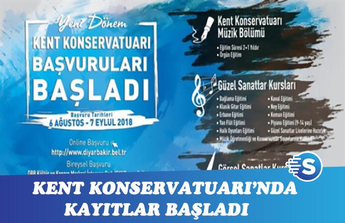 Diyarbakır Kent Konservatuarına öğrenci alımları başladı