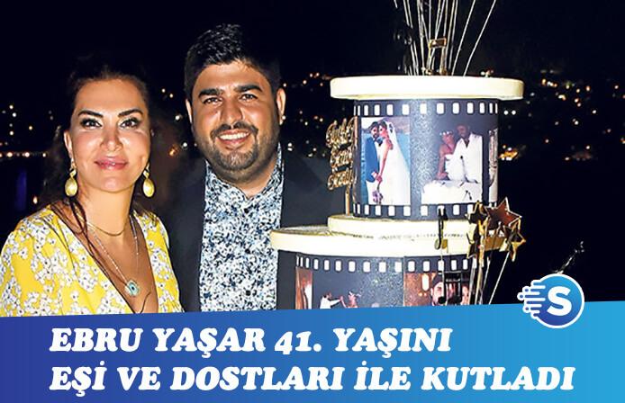 Ebru Yaşar'a doğum günü sürprizi