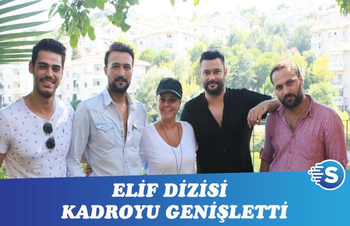 Elif dizisi 5.sezon çekimlerine yeni oyuncuları ile başladı