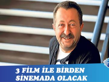 Erkan Can 3 farklı film ile seyirci karşısında olacak