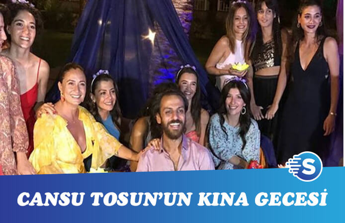 Erkan Kolçak Köstendil ile Cansu Tosun'un kına gecesi