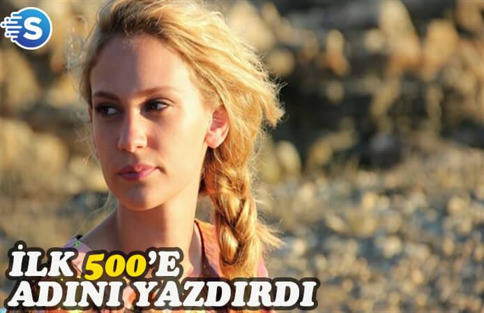 Farah Zeynep Abdullah, IMDB'de ilk 500'e girdi