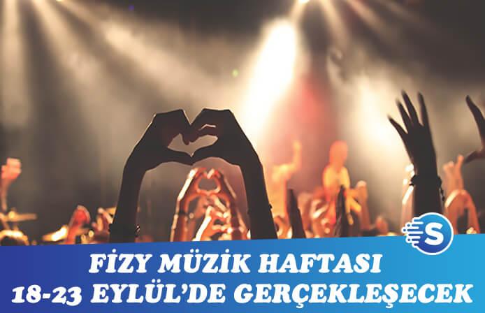 Fizy İstanbul Müzik Haftası'na son 1 ay