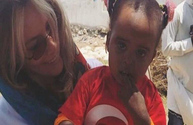gamze özçelik umuda koşanlar derneği somali yardım