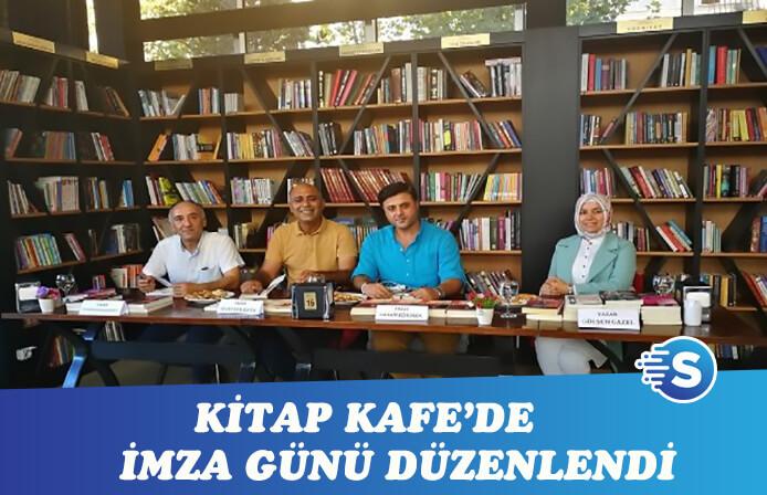 Gaziantep'te Kitap Kafe'de imza ve söyleşi etkinliği