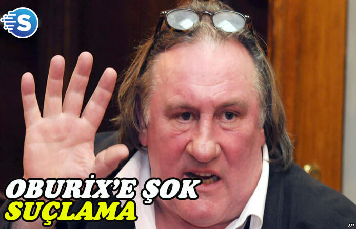 Oburiks rolü ile tanınan Gérard Depardieu'ye şok suçlama