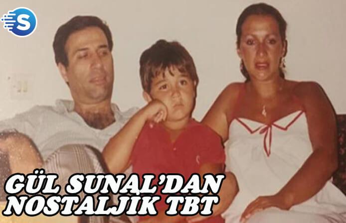 Gül Sunal'dan nostaljik Tbt