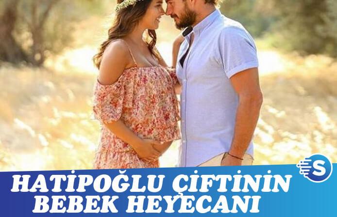 Hakan-Gizem Hatipoğlu çiftinin bebek heyecanı