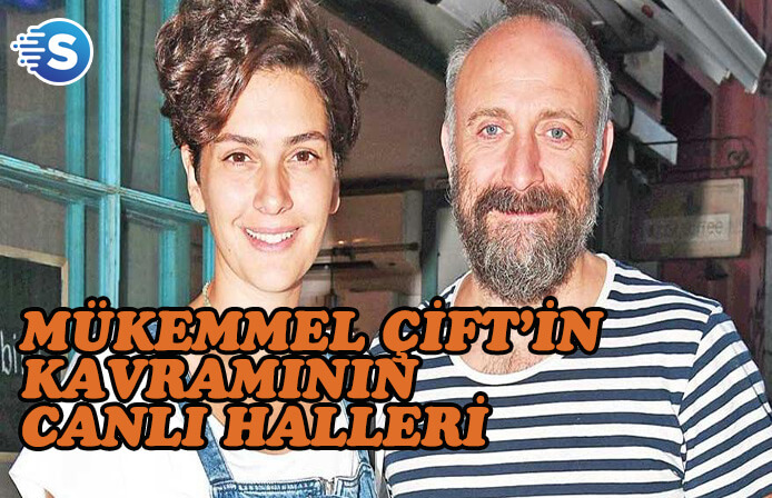 Halit Ergenç'ten eşine iltifat