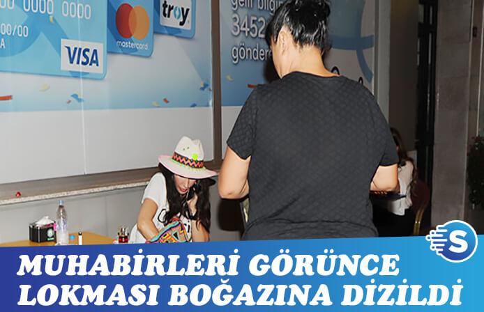 Hande Yener'in lokması boğazına dizildi