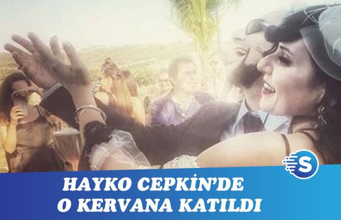 Hayko Cepkin sessiz sedasız evlendi