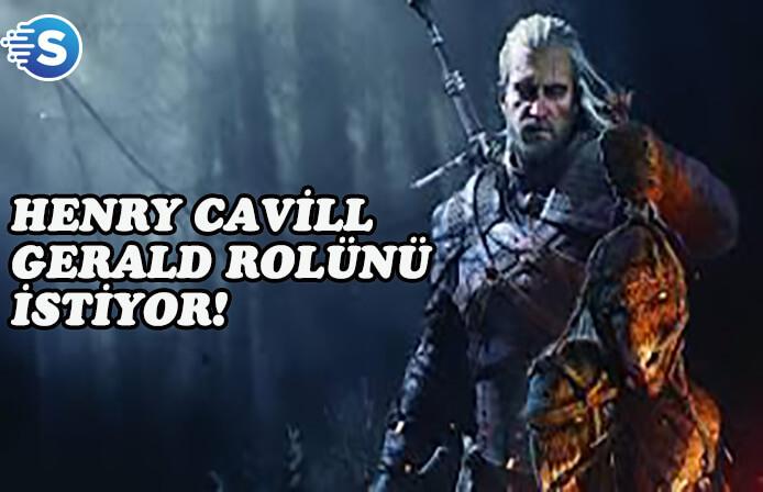 Henry Cavill, Netflix'e uyarlanacak olan The Witcher'da Gerald'ı oynamak istiyor!