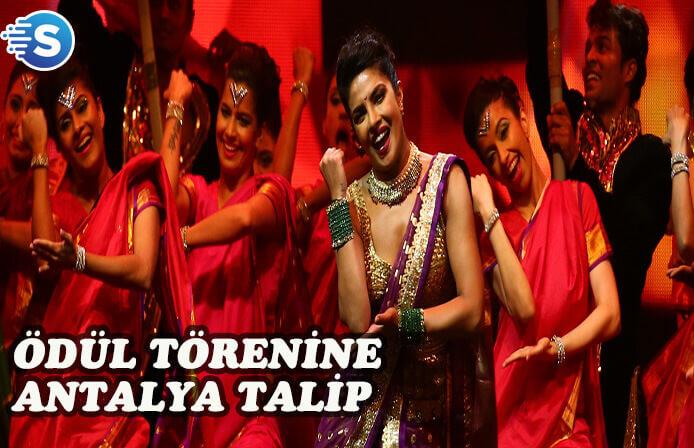Bollywood Oskarları için Antalya sesleri