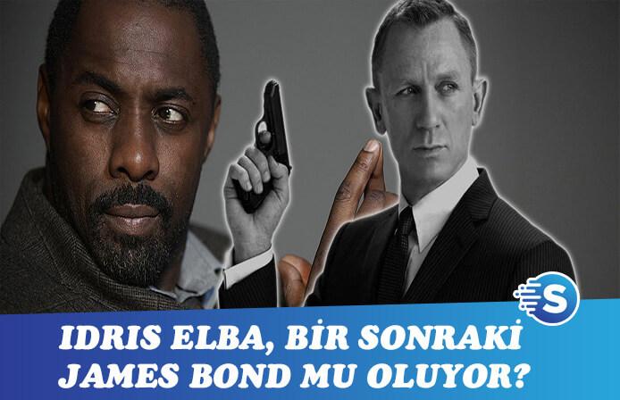 Idris Elba yeni James Bond mu oluyor?
