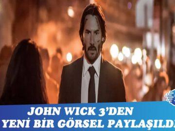 John Wick 3'den yeni bir kare paylaşıldı