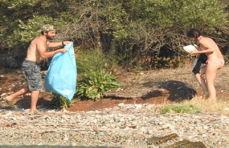 kadir doğulu neslihan atagül akyaka çöp topluyor