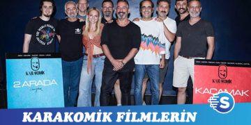 Karakomik Filmler'in okuma provalarından görüntüler