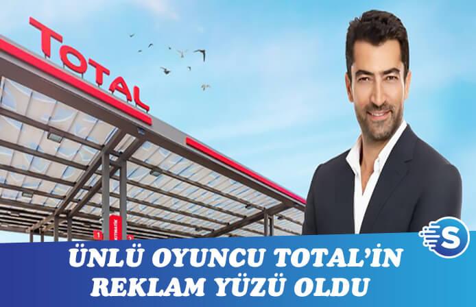 Total'e yeni yüz! Kenan İmirzalıoğlu'nu benzinliğe götürdü!