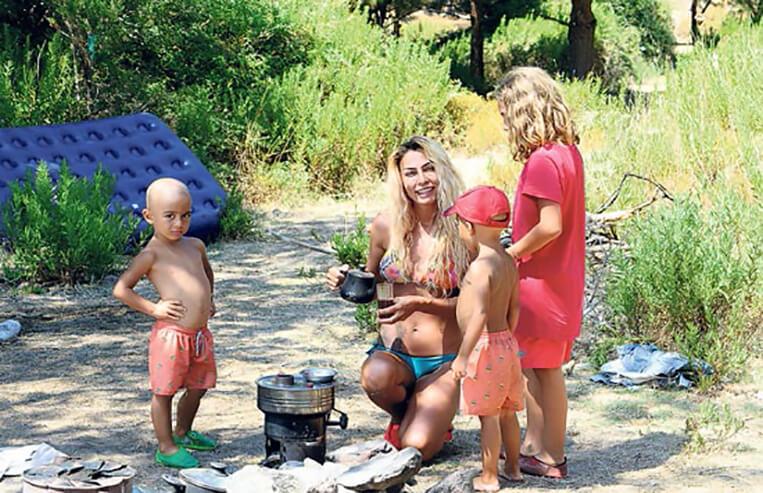 leyla bilgnel kamp tatili