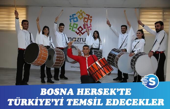 Bosna'da ki festivalde Türkiye'yi temsil edecekler