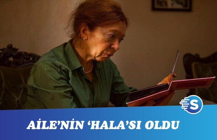 """Meral Çetinkaya, İstanbullu Gelin'in """"halası"""" oldu"""