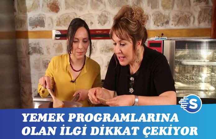 Medya'nın dilinde varsa yoksa yemek programları