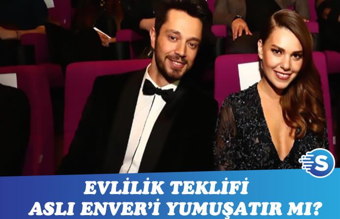 Murat Boz son kozunu da oynadı! Aslı Enver'e evlilik teklifi