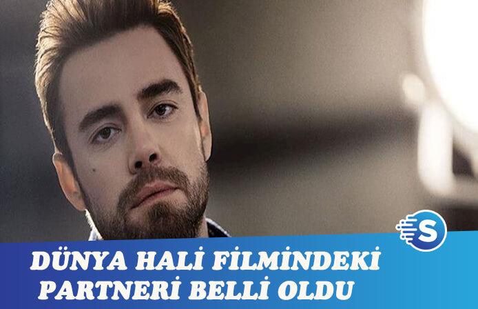 Murat Dalkılıç'ın Dünya Hali filmindeki partneri belli oldu