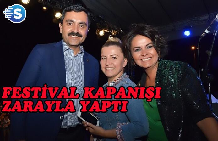 Neşet Ertaş festivali kapanışı Zara ile yaptı